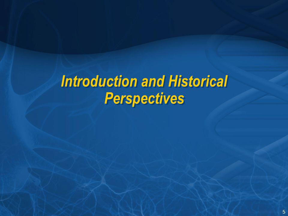 5 Introduction and Historical Perspectives