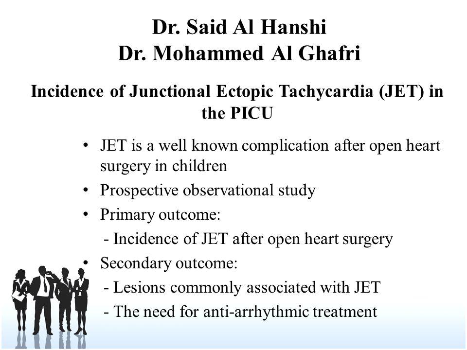 Dr. Said Al Hanshi Dr.
