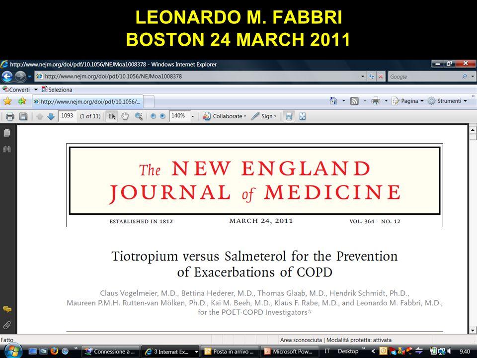 LEONARDO M. FABBRI BOSTON 24 MARCH 2011 Obaji A, Sethi S.