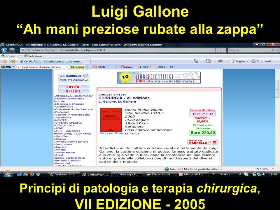 Principi di patologia e terapia chirurgica, VII EDIZIONE - 2005 Obaji A, Sethi S.