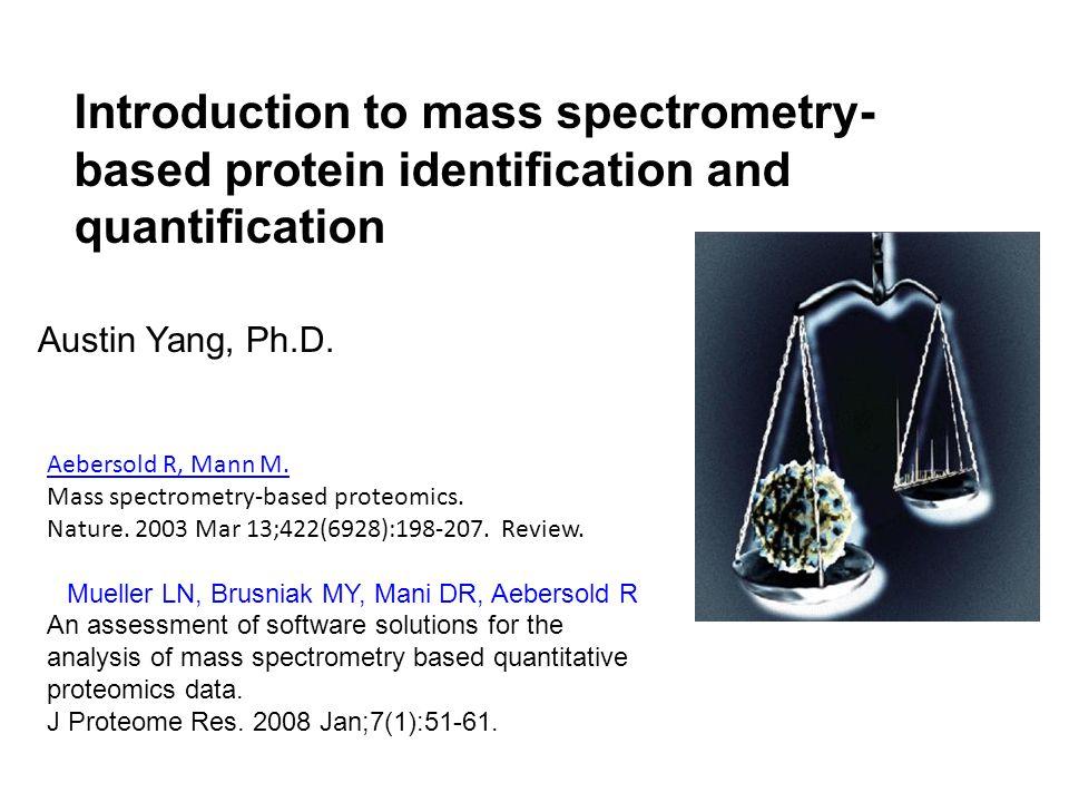 MS/MS Database Search Example Data: BSA onespectra.mgf (one spectra) Database: bovine Fixed modifications: Carboxymethyl(C + 58.01) Varied modifications: Oxidatation(M) Peptide Mass Tolerance : 0.1 Da Fragment Mass Tolerance: 0.1 Da http://www.matrixscience.com/help/fragmen tation_help.html