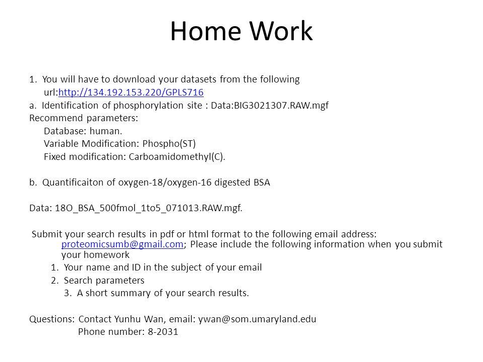 Home Work 1.