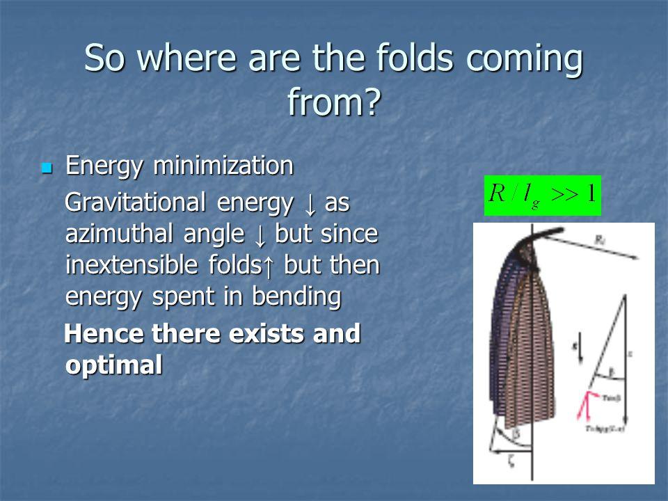 So how many folds do we get.