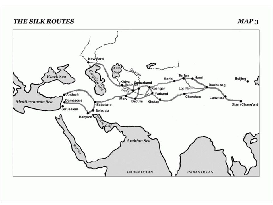 Age of European Exploration Europeans wanted access to those Asian goods without having to go through the Muslim middlemen They began seeking maritime trade routes directly to Asia which would largely displace the Silk Roads –We'll discuss this in Lesson 25