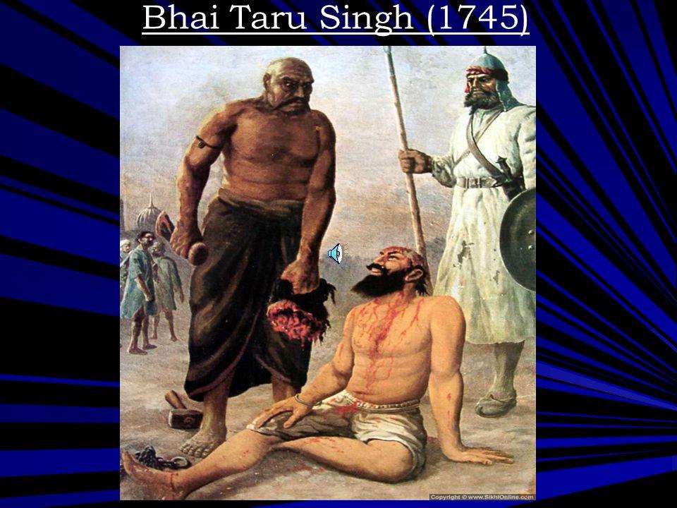 Bhai Taru Singh (1745)