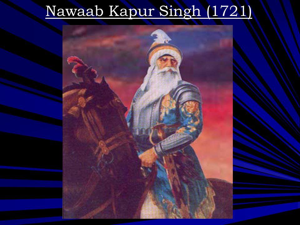 Nawaab Kapur Singh (1721)