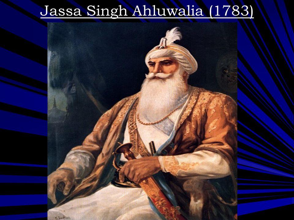 Jassa Singh Ahluwalia (1783)