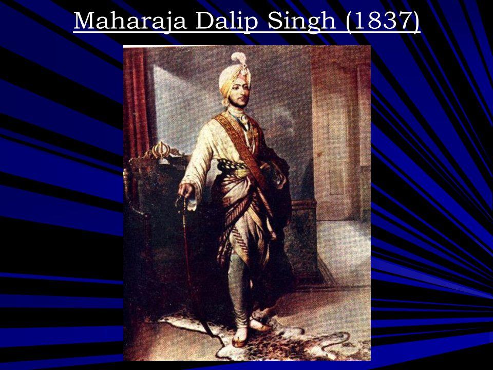 Maharaja Dalip Singh (1837)