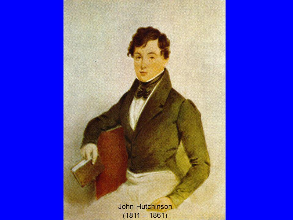 John Hutchinson (1811 – 1861)
