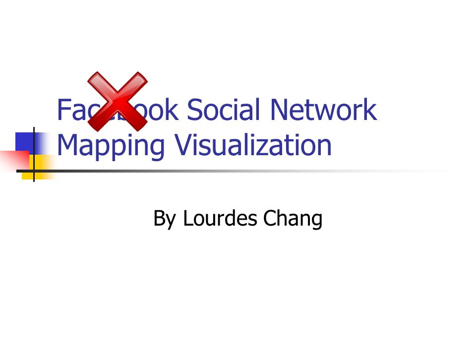 Facebook Social Network Mapping Visualization By Lourdes Chang