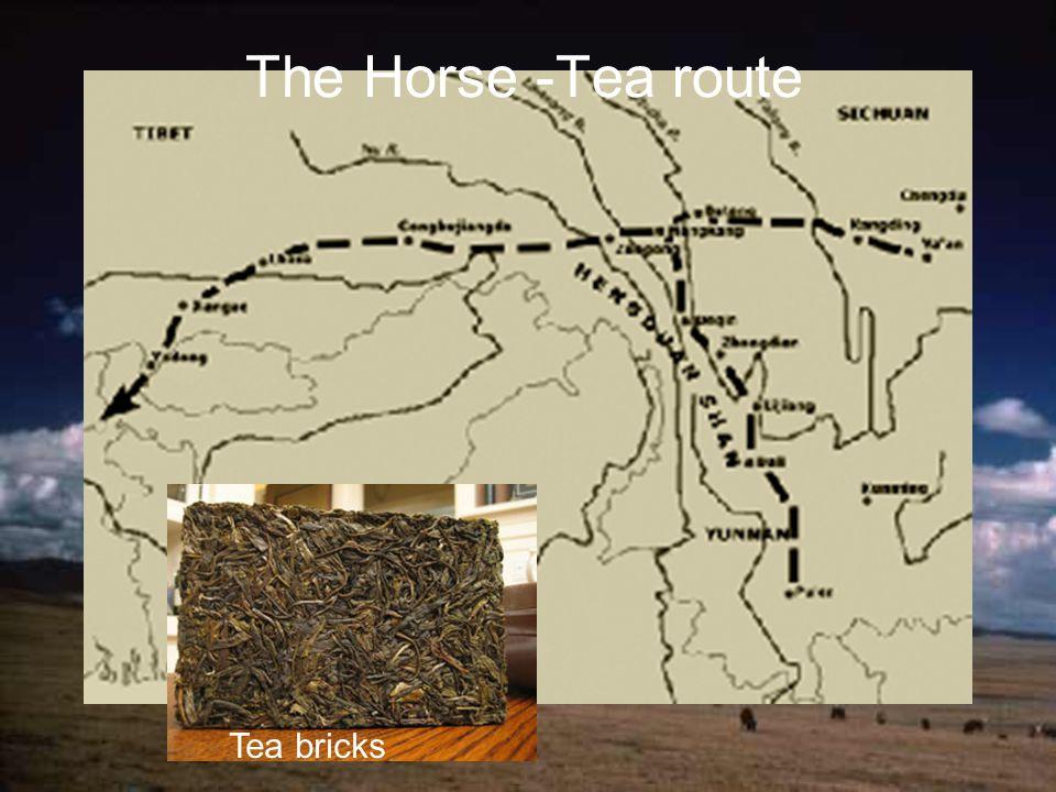 Tea bricks The Horse -Tea route