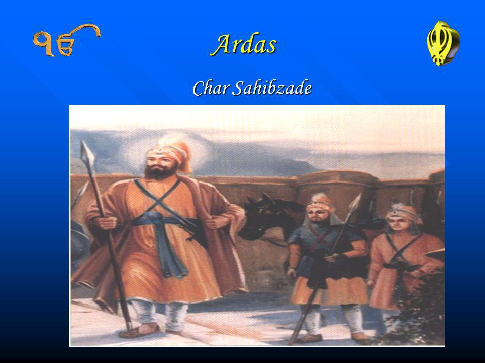 Ardas Char Sahibzade