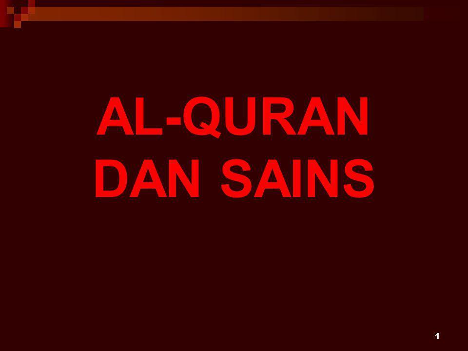 1 AL-QURAN DAN SAINS