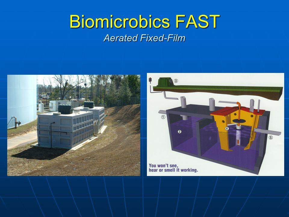 Biomicrobics FAST Aerated Fixed-Film