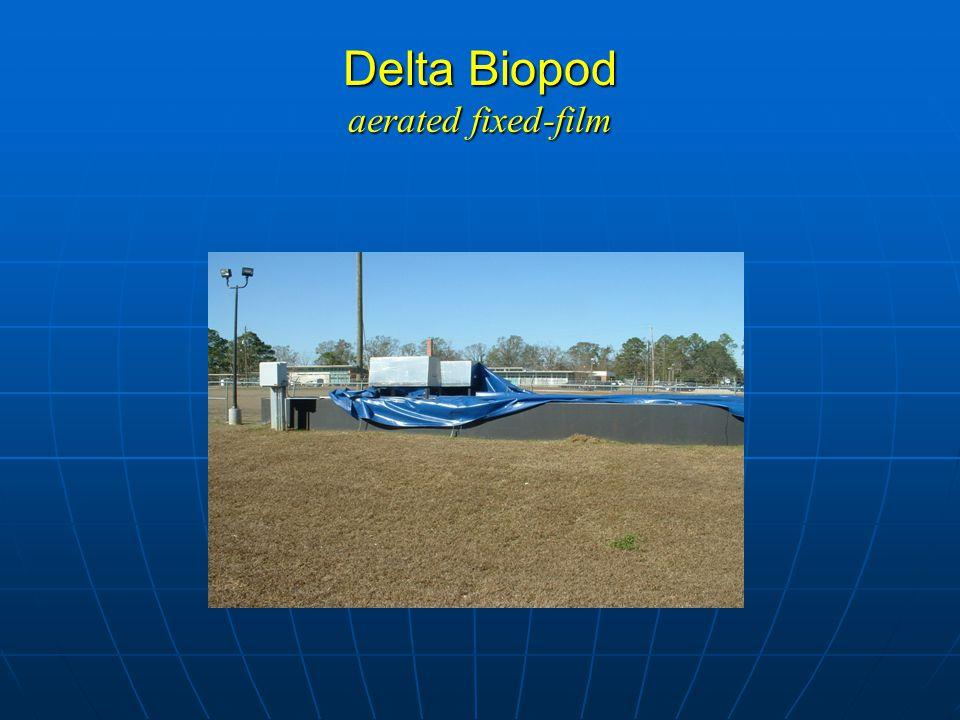 Delta Biopod aerated fixed-film