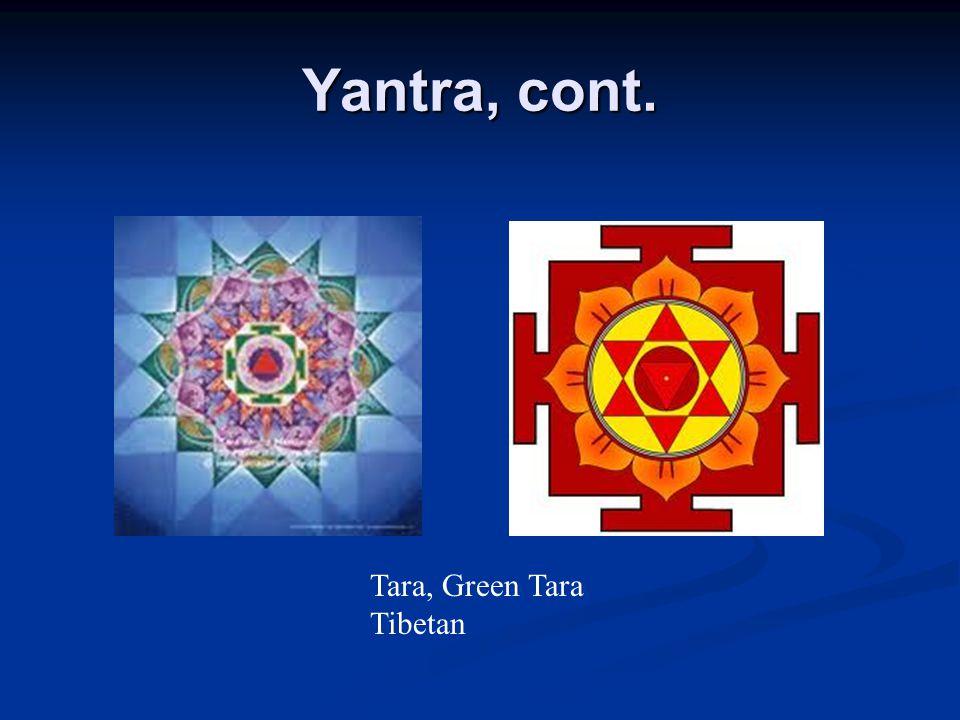 Yantra, cont. Tara, Green Tara Tibetan