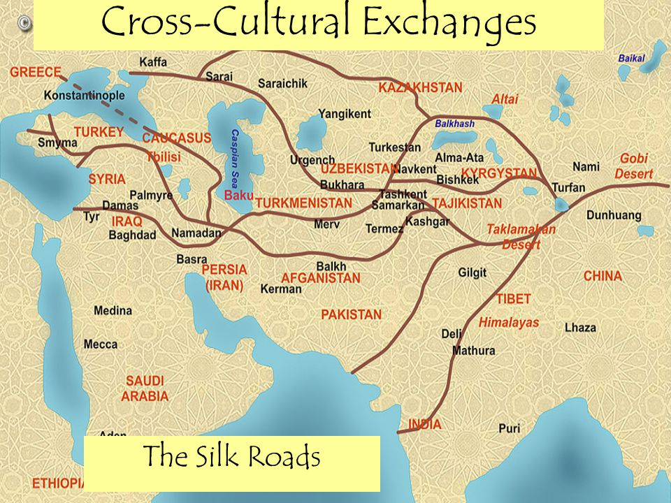 Cross-Cultural Exchanges The Silk Roads