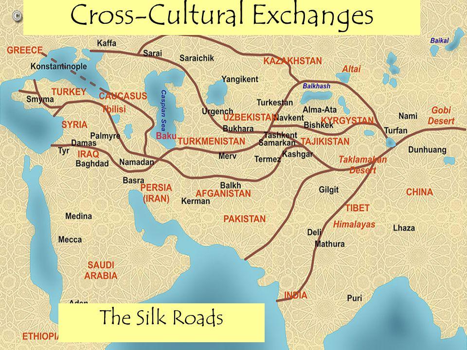 Long Distance Trade & the Silk Roads Network