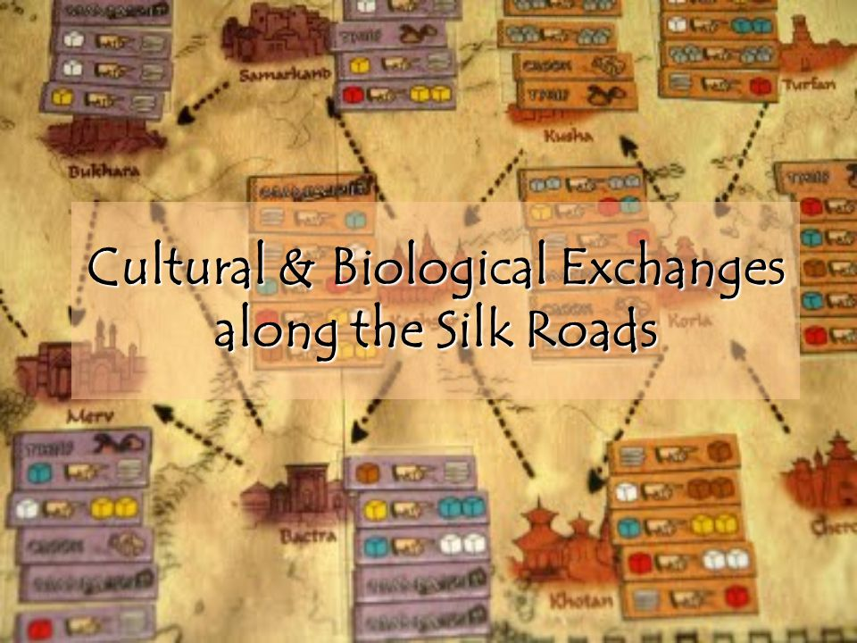 Cultural & Biological Exchanges along the Silk Roads