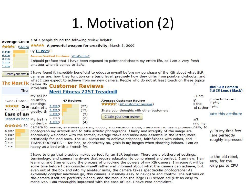 1. Motivation (2)