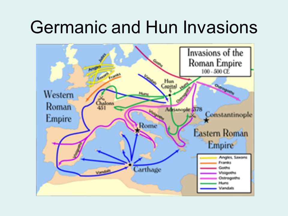 Germanic and Hun Invasions