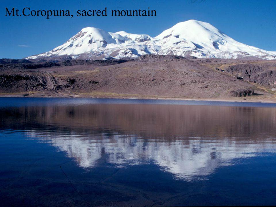Mt.Coropuna, sacred mountain