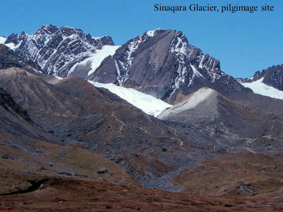 Sinaqara Glacier, pilgimage site