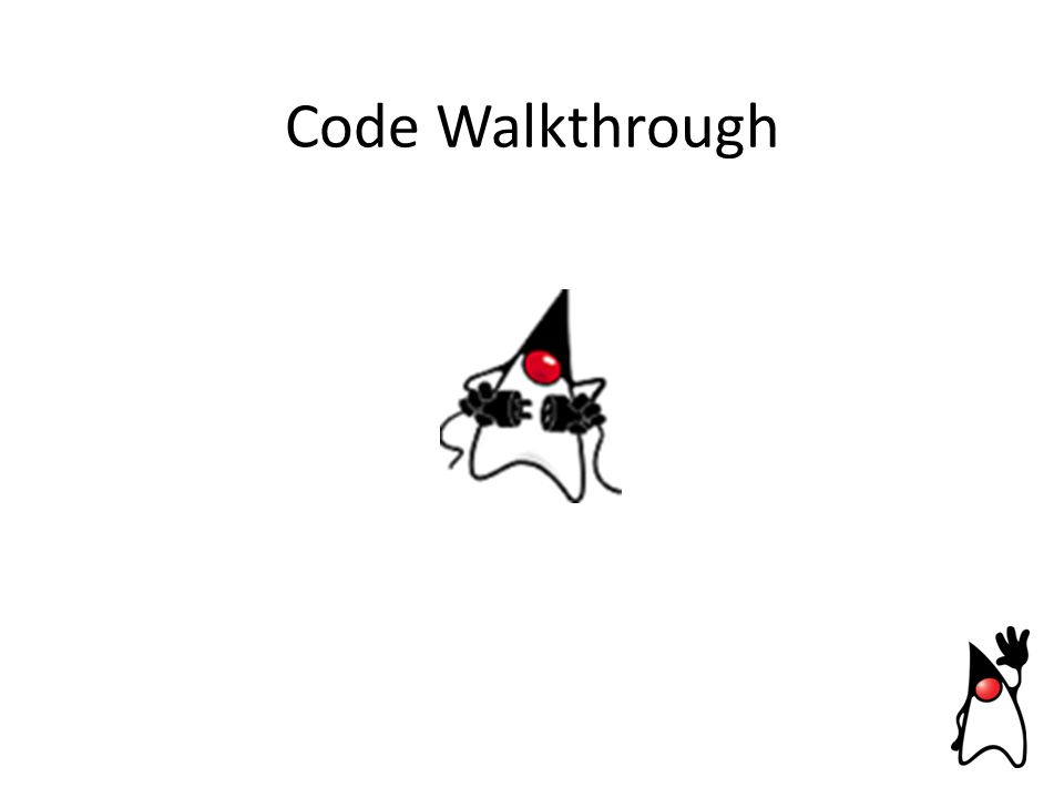 Code Walkthrough
