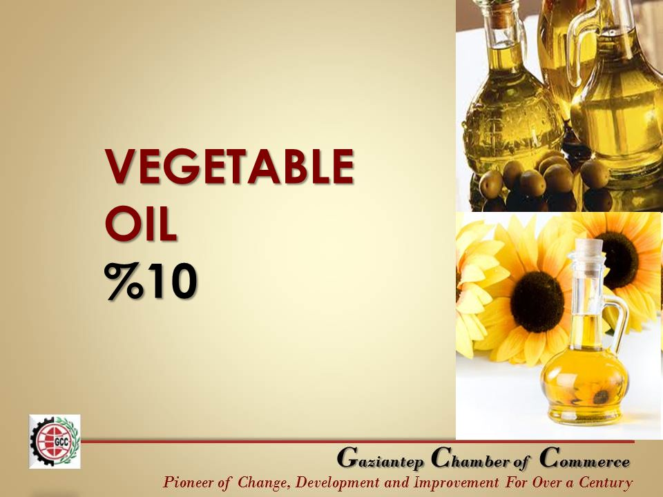 VEGETABLE OIL %10