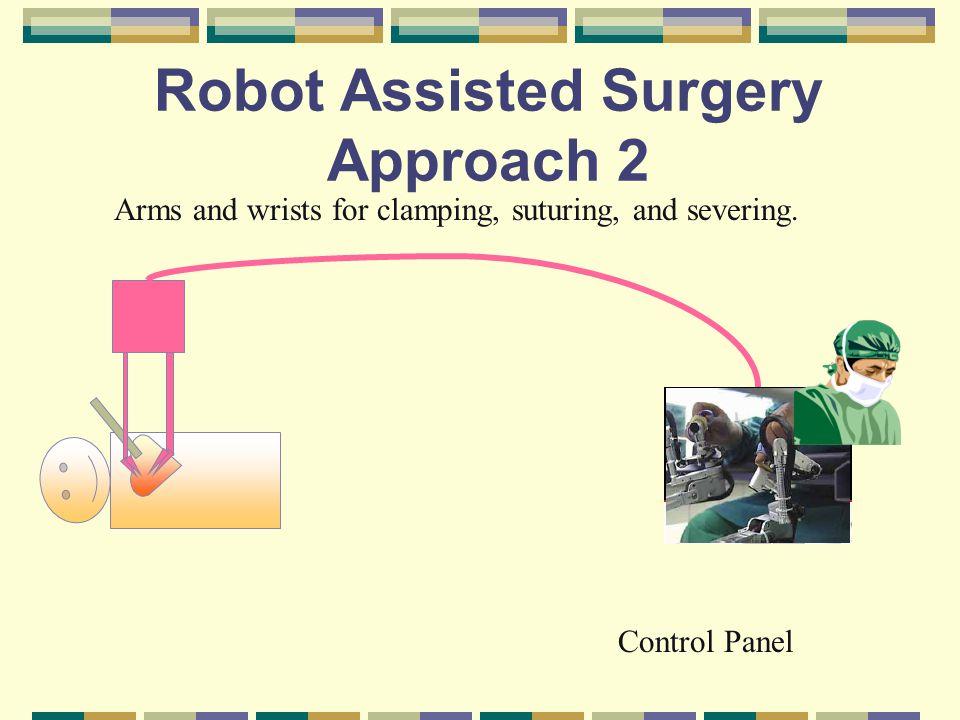 An example to robots Da Vinci Surgical System 3 Robotic articulated instrumentation daVinci prototype 1997 [5]