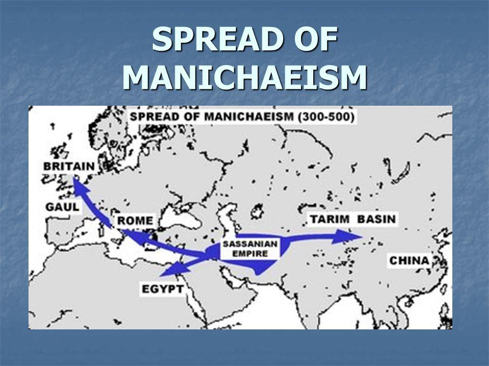 SPREAD OF MANICHAEISM