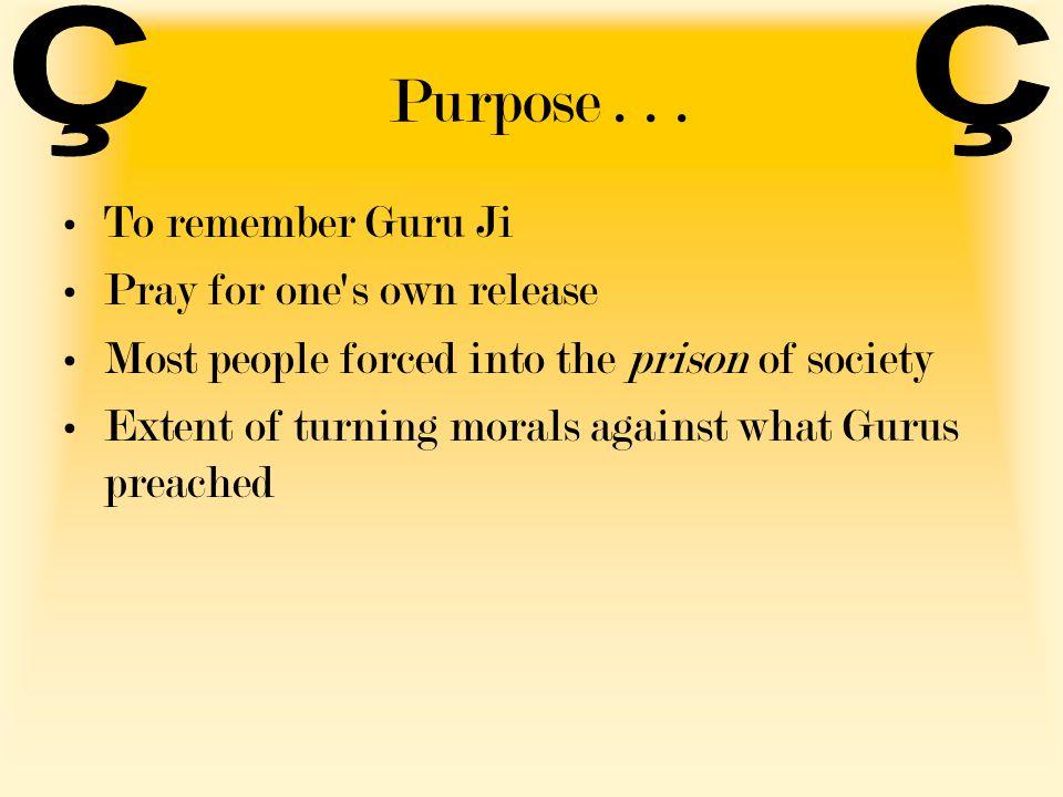 Purpose...