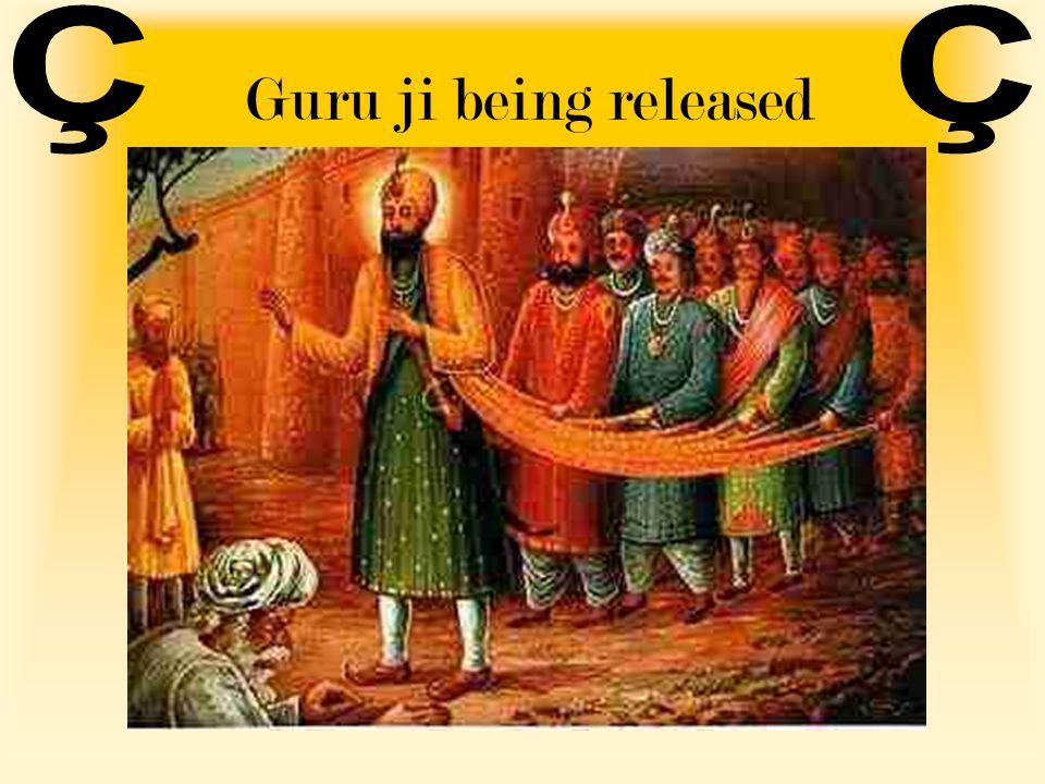 Guru ji being released