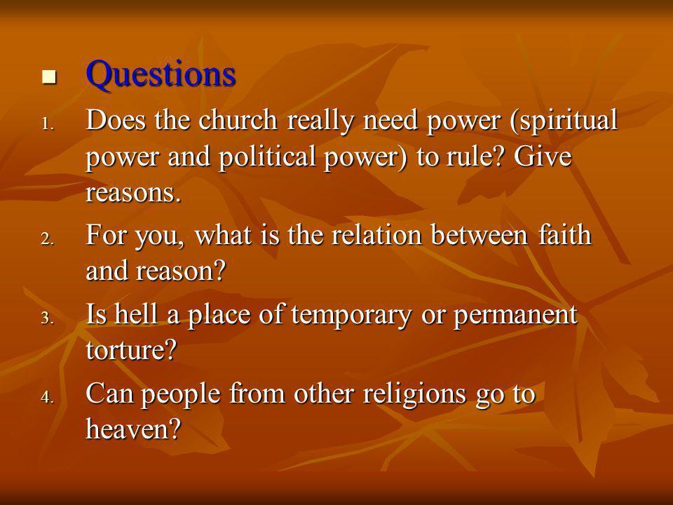 Questions Questions 1.