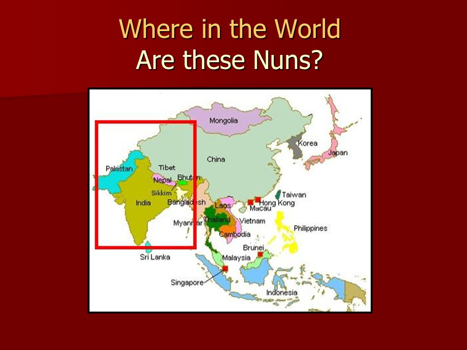 Where in the World Are these Nuns