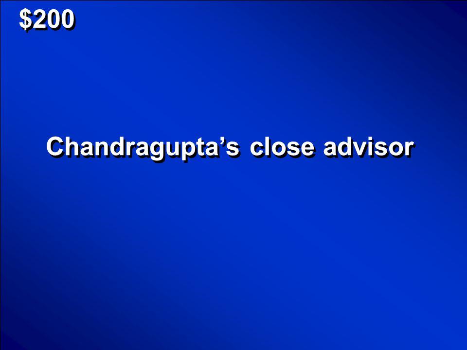 $100 Chandragupta Scores