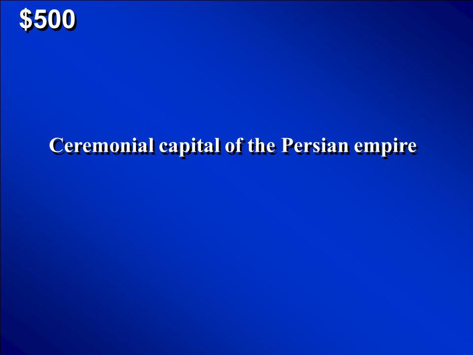 Mesopotamia $400 Scores