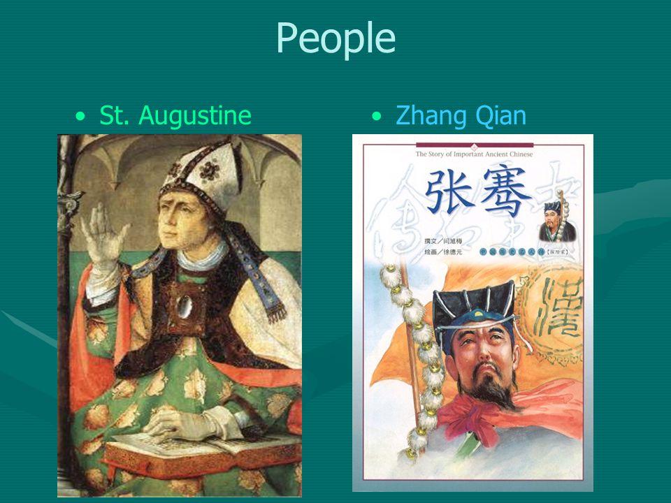 People St. AugustineZhang Qian