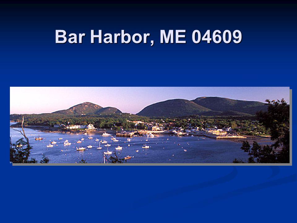 Bar Harbor, ME 04609