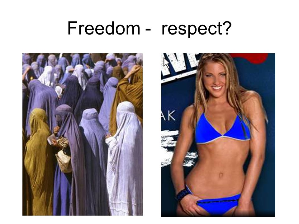Freedom - respect