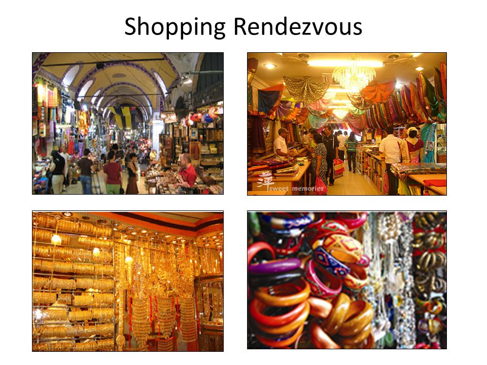 Shopping Rendezvous