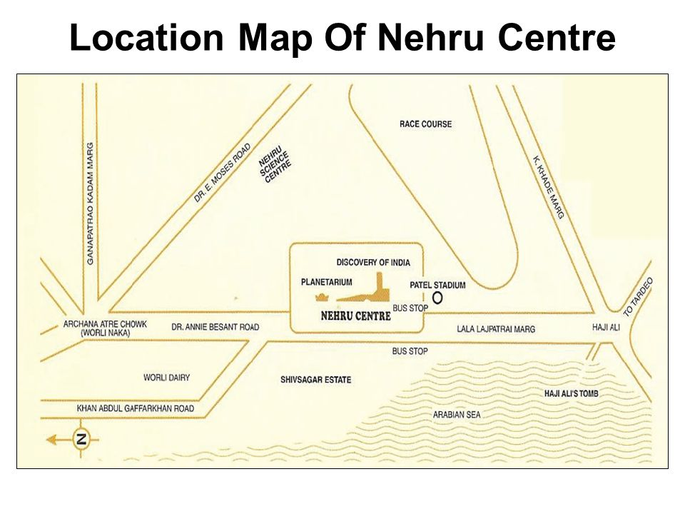 Attractions in Nehru Centre Library Nehru PlanetariumDiscovery of India