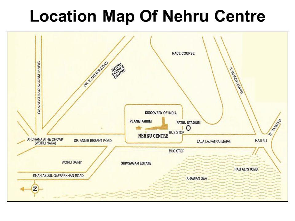 Location Map Of Nehru Centre