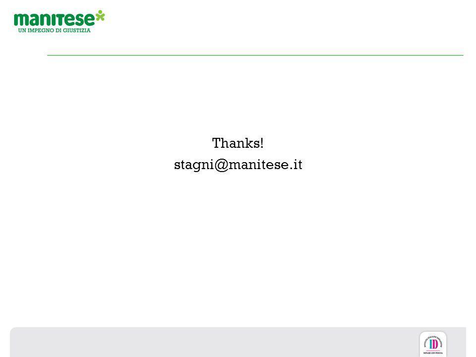 Thanks! stagni@manitese.it