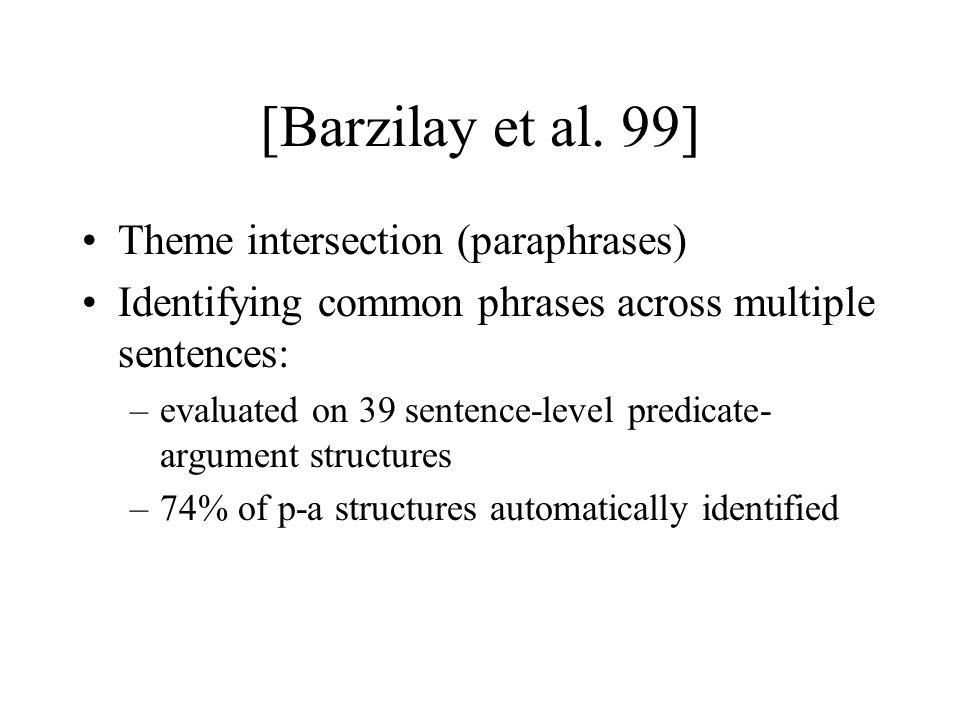 [Barzilay et al.