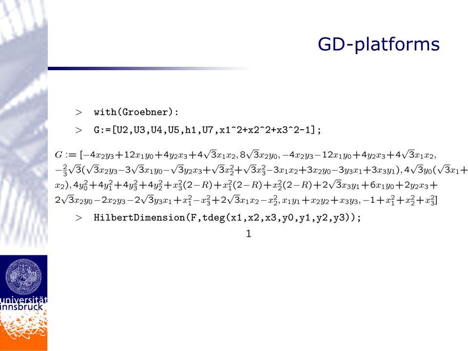 GD-platforms