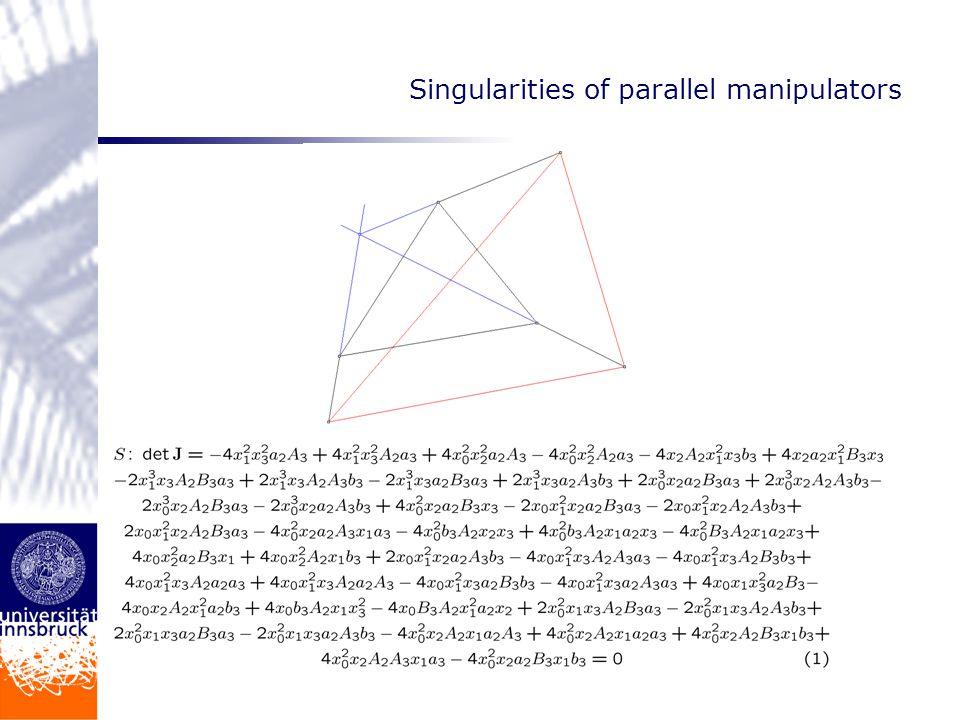 rational parametrization M. Noether