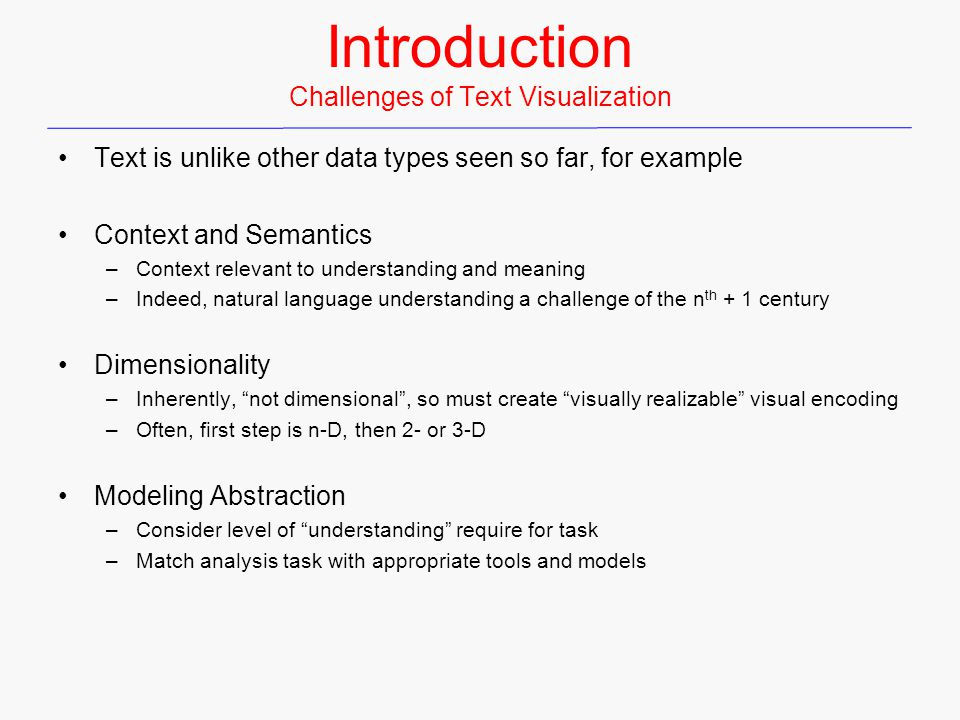 TileBars Document representation Visual representation of retrieved documents Video: TileBars-80mb-chi96_05_m1.mpeg From Stasko, 2013