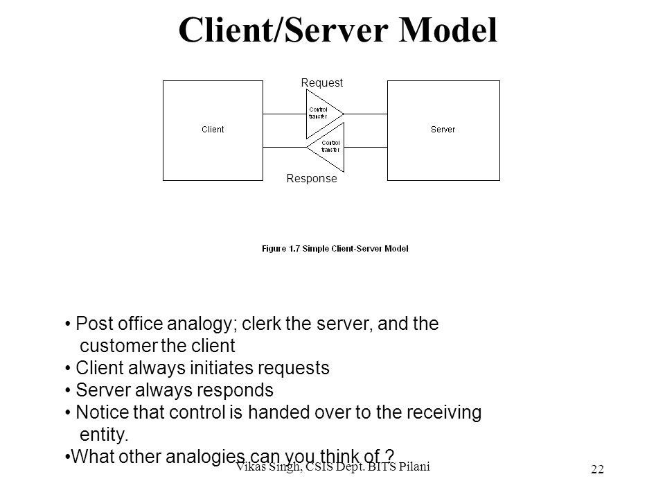 Notes Major impacts of DCE: No more monopolistic service provider No centralized IT controller Hosts doing specialized function Client/Server architec