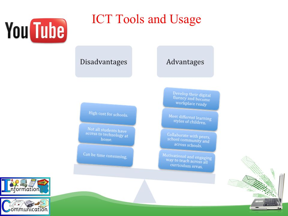 ICT Tools and Usage Student and mentor activities were observed on the Facebook group page.